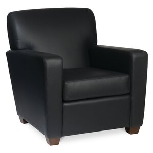 Ascot Leather Lounge Chair by Borgo