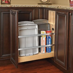 Rev-A-Shelf Tray Divider/Foil and Wrap Soft-Close Organizer