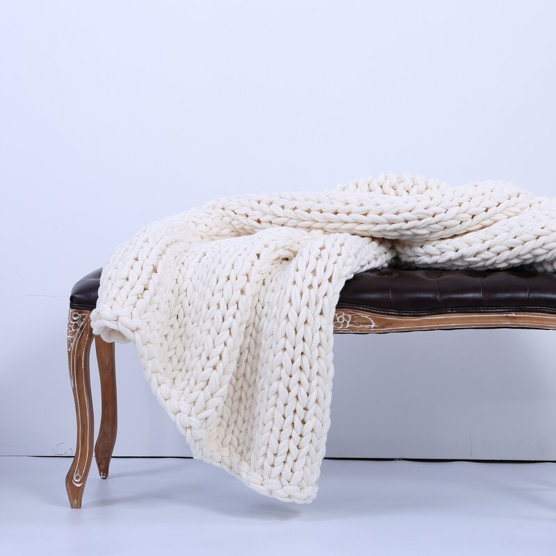 Auman Sailor's Knit Chunky Throw
