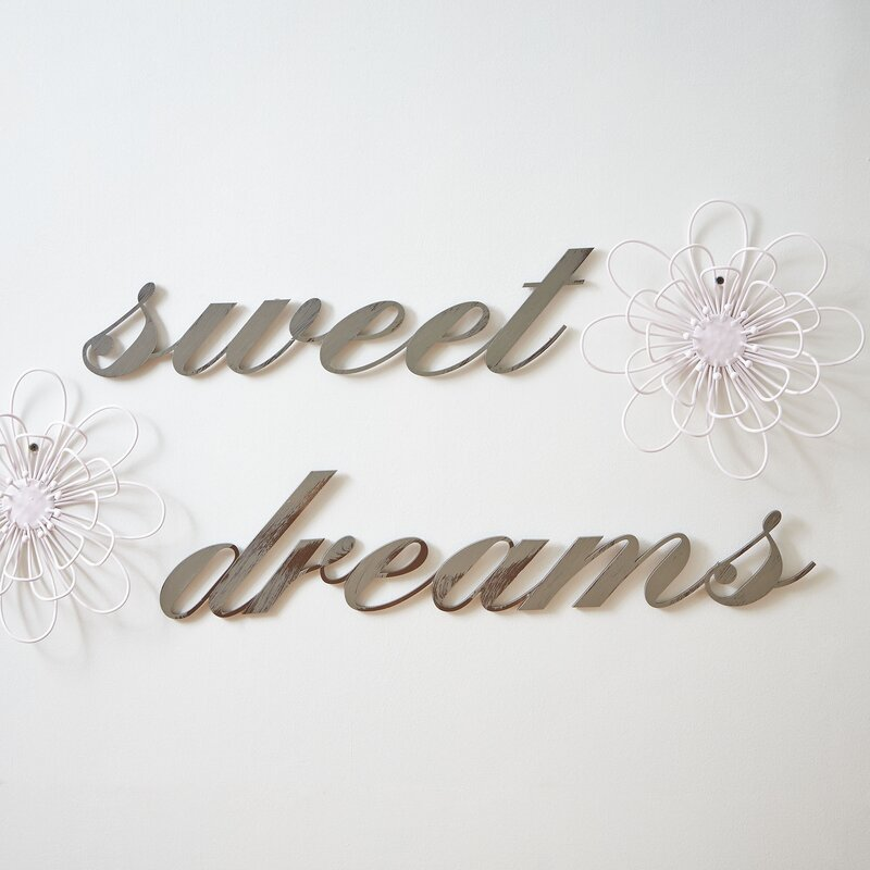 Sweet Dreams Wall Decor