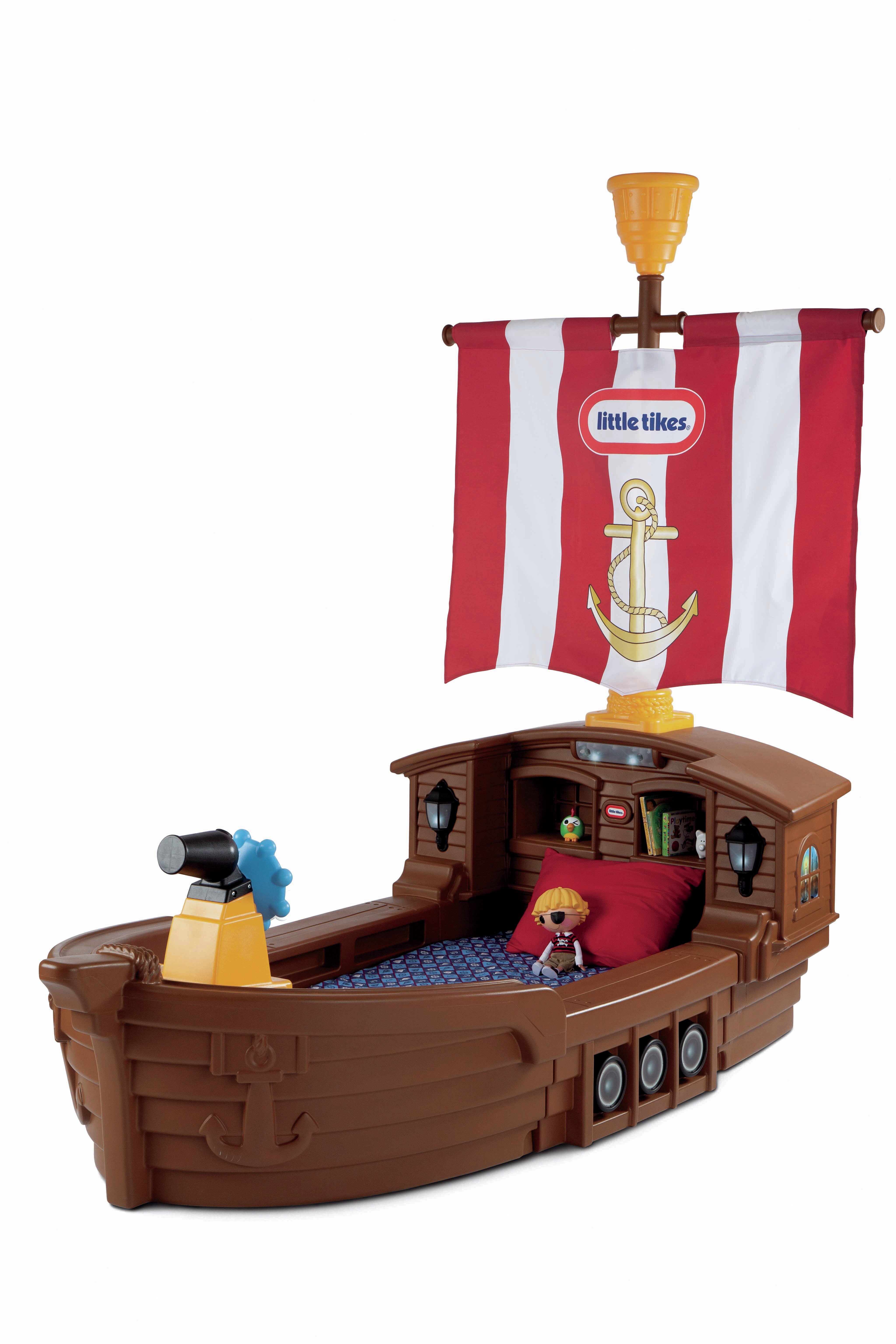 Little Tikes Pirate Ship Toddler Bed & Reviews | Wayfair
