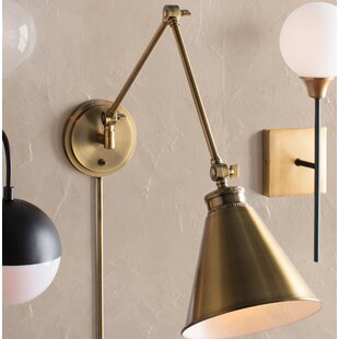 Ridgemont Swing Arm Lamp by Trent Austin Design