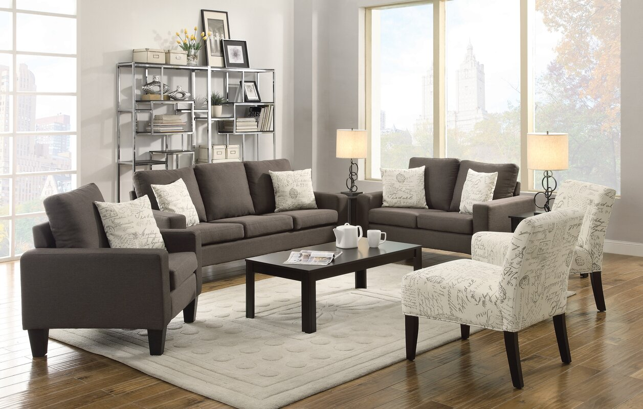 Living Room Sets  SKU  LTRN1469  default nameLatitude Run Living Room Collection   Reviews   Wayfair. Living Room Collections. Home Design Ideas