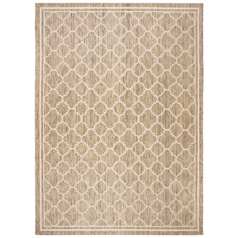 Baby Changing Mat Grey and Brown Geometric