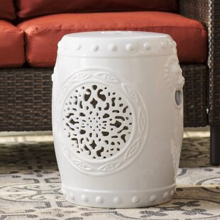 Quarryville Drum Garden Stool