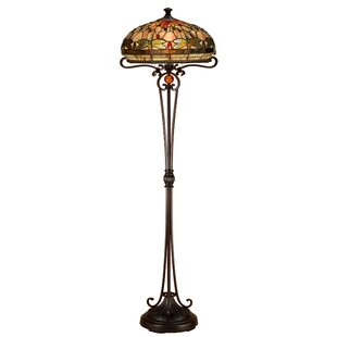Compare & Buy Patel Dragonfly 62.5 Floor Lamp By Astoria Grand