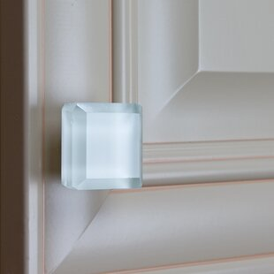 Glass Cabinet Square Knob by GlideRite Hardware Design
