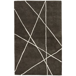 Purchase Ashton Hand-Tufted Black/White Area Rug By Williston Forge