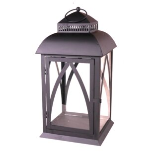 Buy luxury Metal Lantern By August Grove