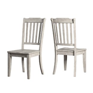 Back Bay Solid Wood Dinning Chair (Set of 2)