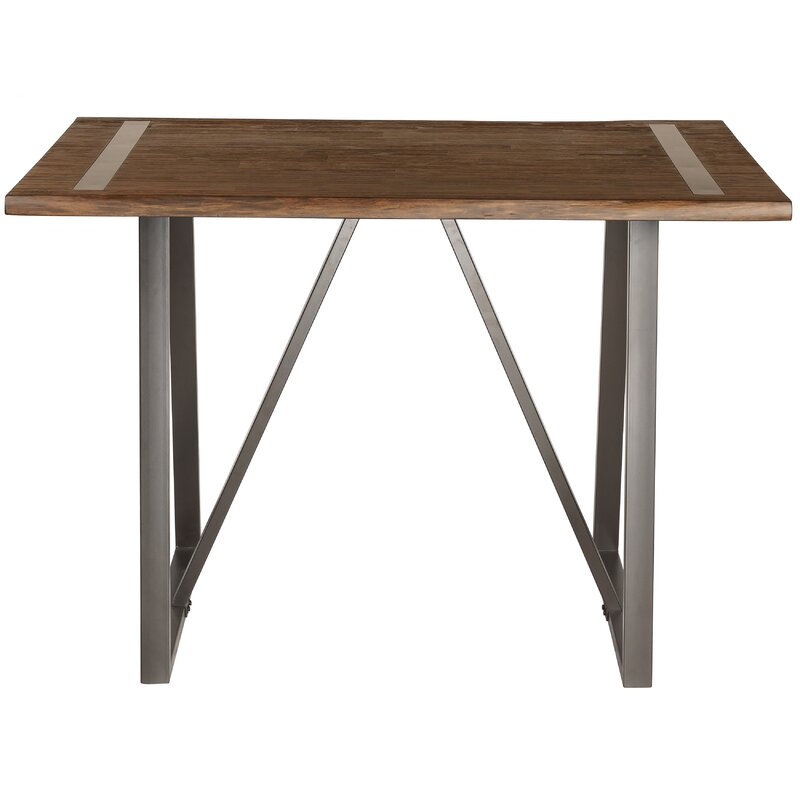 Hilal Industrial Live Edge Pub Table