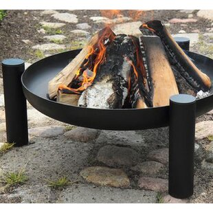 Buckleys Steel Wood Burning Fire Pit By Sol 72 Outdoor