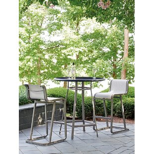 Tommy Bahama Home Del Mar 3 Piece Bar Height Dining Set