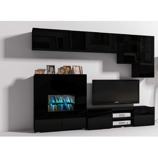 Modern 6 Piece TV Unit For TVs Up To 60