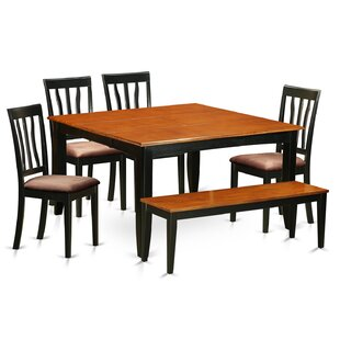 Parfait 6 Piece Extendable Dining Set by ..