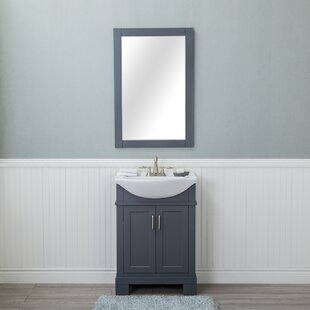 Inexpensive Amansara 24 Single Bathroom Vanity Set with Mirror By Winston Porter
