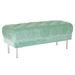 Barrigan Tufted Upholstered Bench by Mercer41