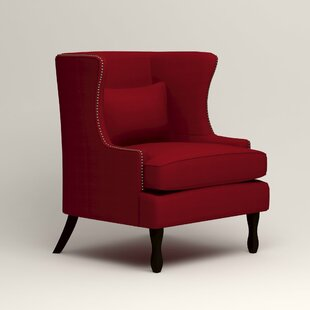 Affordable Price Solomon Wingback Chair By Birch Lane™