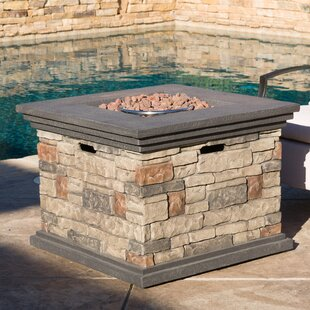 Freeport Park Herefordshire Stone Propane Fire Pit Table