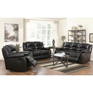 3 Piece Leather Living Room Set by Abbyson Living