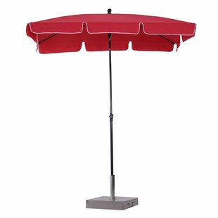 Dewitt 2m X 1.25m Rectangular Traditional Parasol By Freeport Park