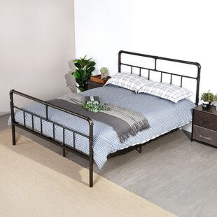 Fontana European Double (140 X 200cm) Bed Frame By Williston Forge