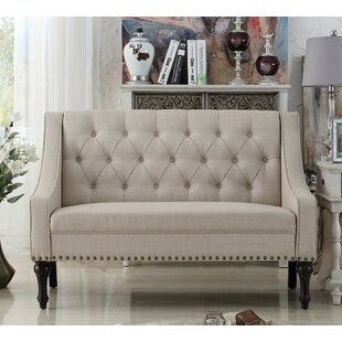Christiansburg Tufted Standard Loveseat Alcott Hill