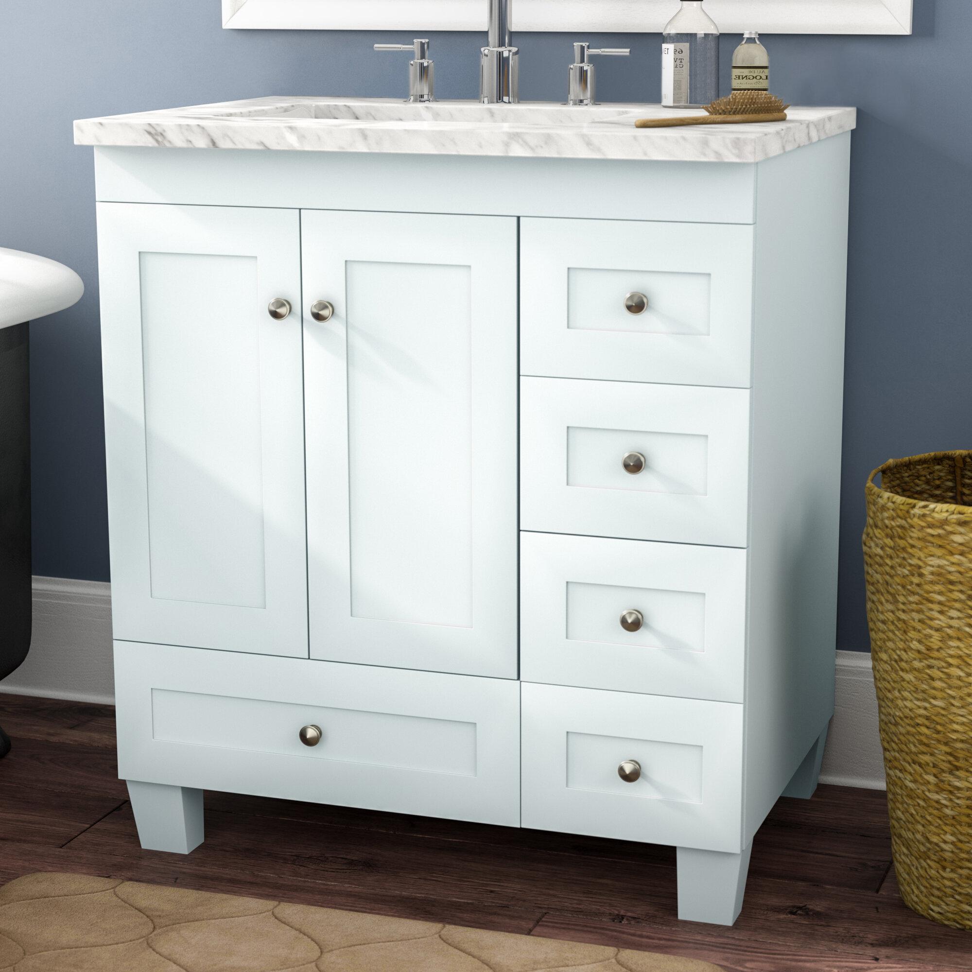 three posts lauder 31 single bathroom vanity reviews wayfair rh wayfair com 31 bathroom vanity white 31 bathroom vanity with drawers