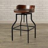 Essonnes Swivel Adjustable Height Bar Stool by Trent Austin Design®