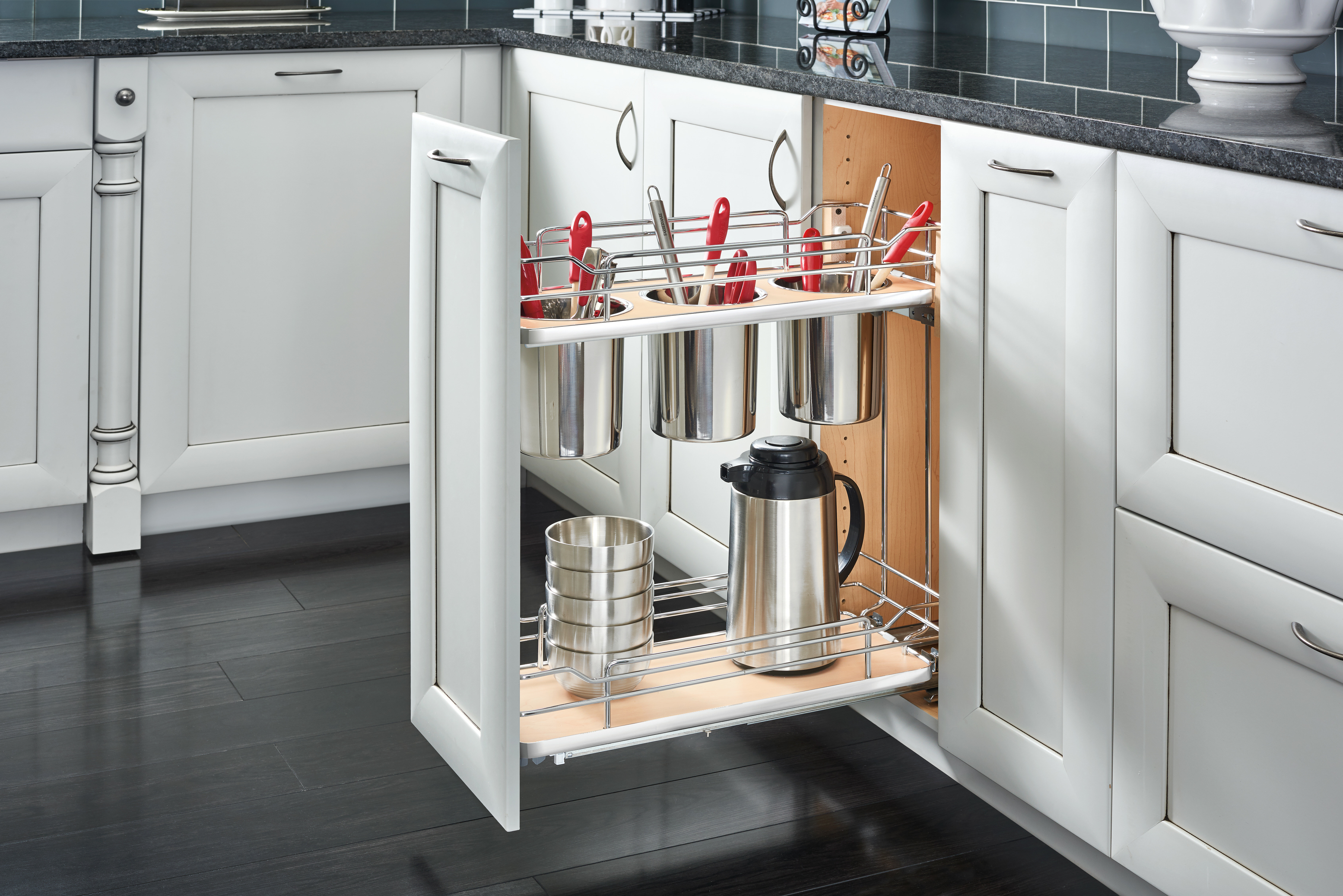 out w pull d x two p with base organizers a cabinet in rev shelf organizer tier cookware h close slides cr soft