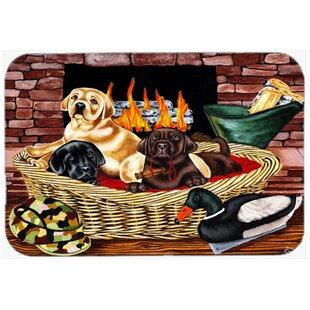 Review The Next Generation Labrador Glass Cutting Board By Caroline's Treasures