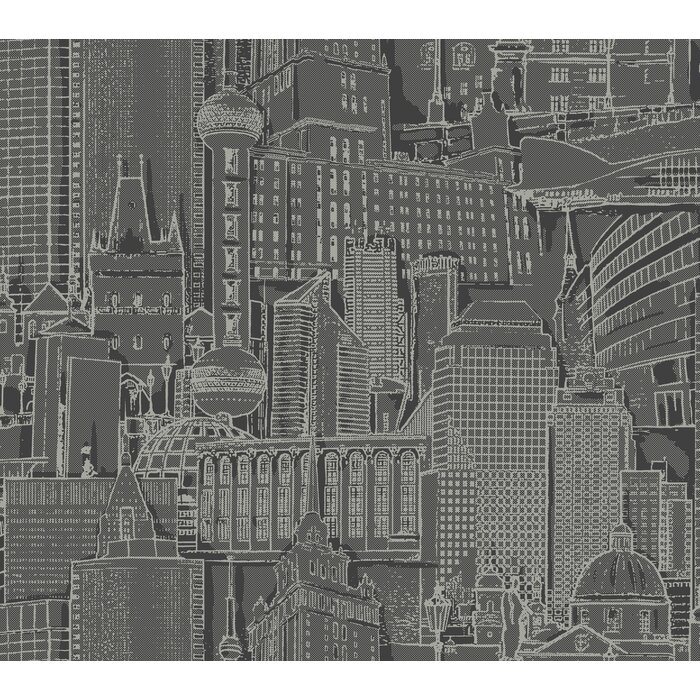 Bazan Great Expectations Removable 27 L X 27 W Wallpaper Roll