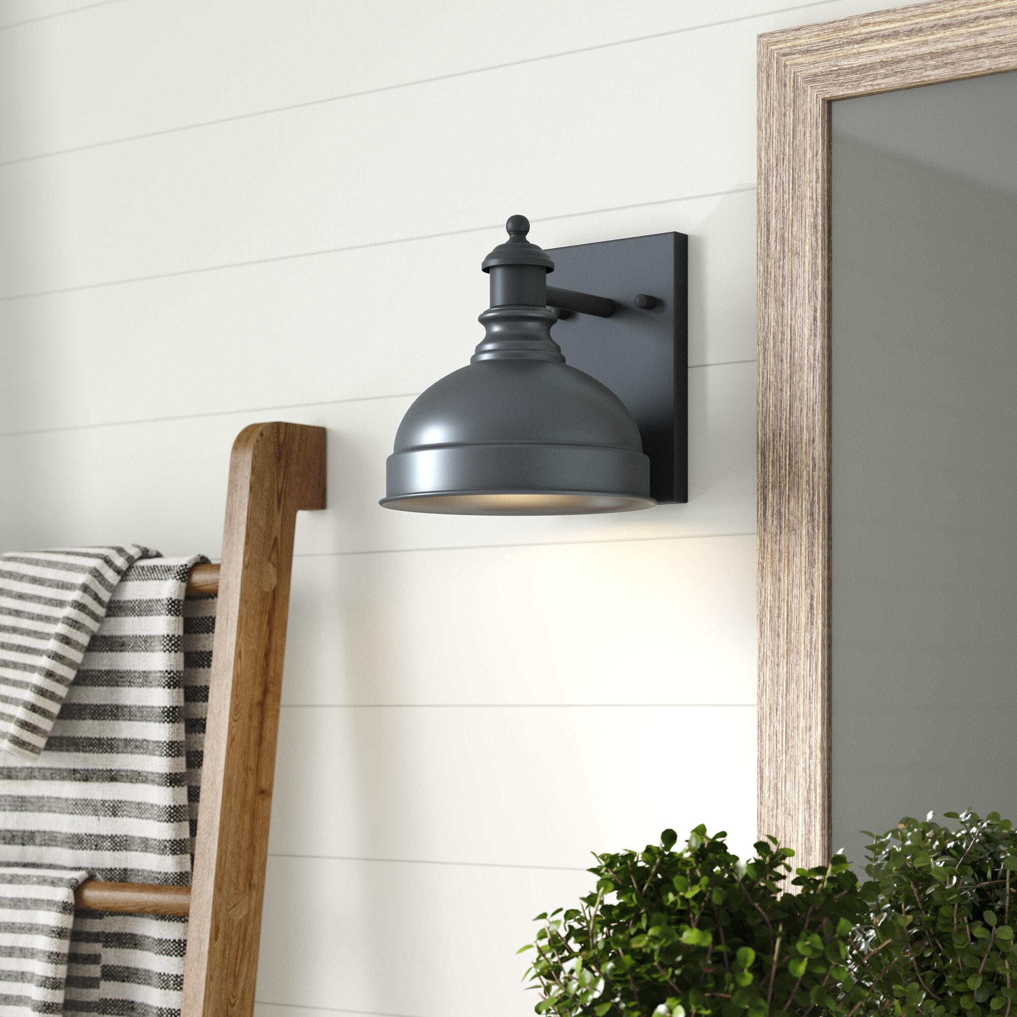 Laurel Foundry Modern Farmhouse Ernest 1 Light Barn Light Reviews Wayfair