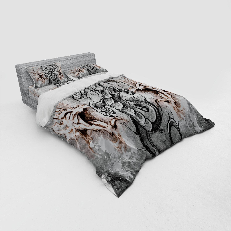 3D Jurassic Dinosaur Quilt Cover Bedding Set Power Dragon Duvet Cover Pillowcase
