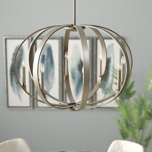 Order Zachary 8-Light Globe Chandelier By Corrigan Studio