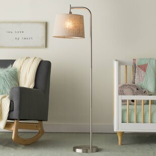 Top Reviews Hesse 58 Arched Floor Lamp By Ebern Designs