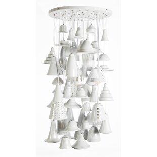 10-Light Cluster Pendant b..