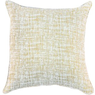 Eccles Textured Design Cotton Throw Pillow