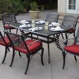Appleby 7 Piece Dining Set with Cushions