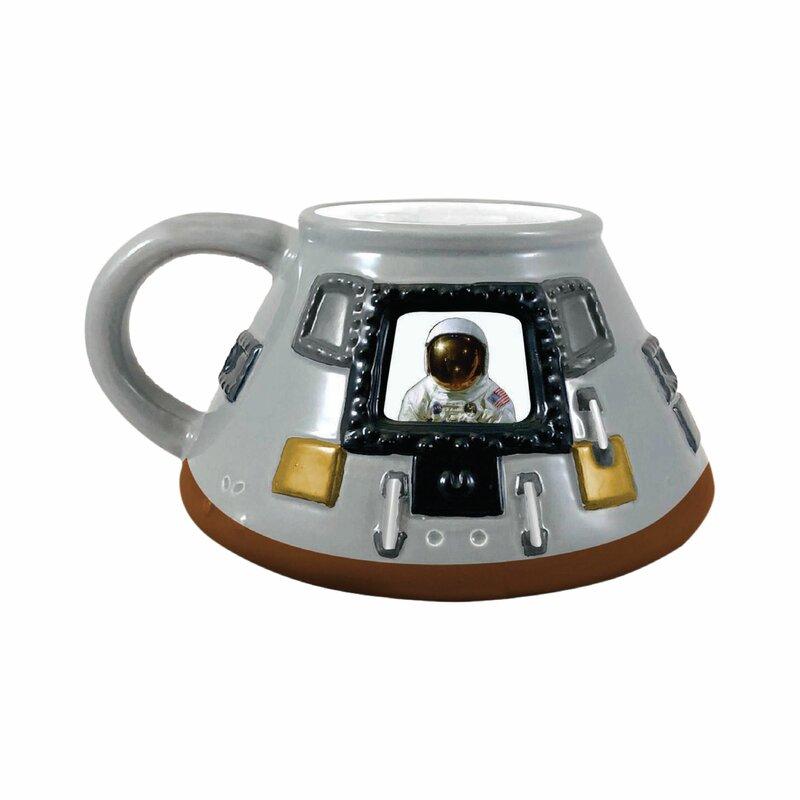 7a0f44e5fea Smithsonian Apollo 11 Module 20 oz. Sculpted Coffee Mug