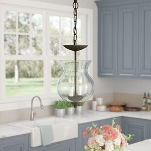 Charlton Home Lauritsen 2-Light Urn Pendant