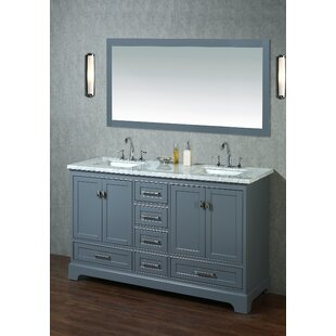 Quickview Willa Arlo Interiors Stian 60 Double Sink Bathroom Vanity Set