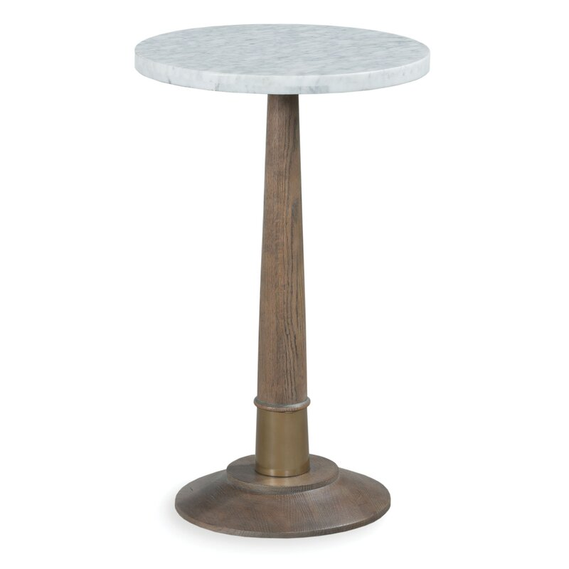 Provence Martini Pedestal End Table