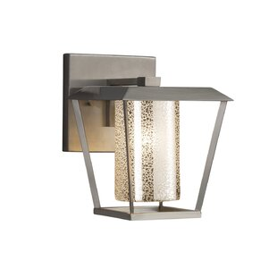 Check Prices Luzerne 1-Light Outdoor Sconce By Brayden Studio
