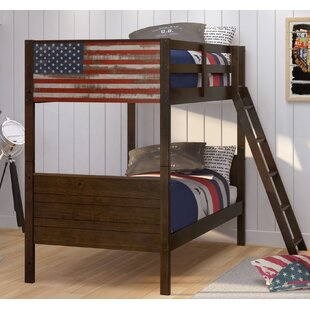 Harriet Bee Bearfield Twin over Twin Bunk Bed