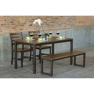 Loft 4 Piece Dining Set by Elan Furniture