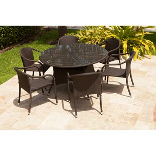 Rorie 7 Piece Rattan Multiple Chair Seating Group by Brayden Studio