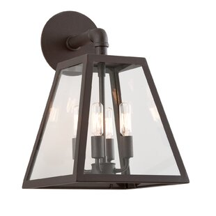 Read Reviews Bridgwater 4-Light Outdoor Wall Lantern By Canora Grey