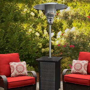 Square Wicker 41,000 BTU Propane Patio Heater