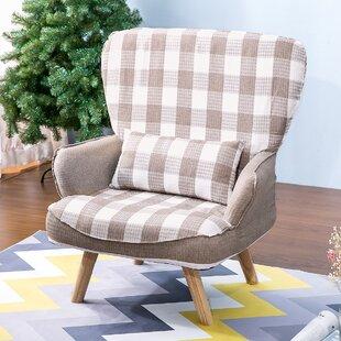 Stouffer Accent Slipper Chair by Ebern Designs